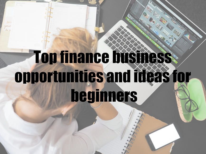 Top finance business opportunities and ideas for beginners